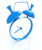 Alarm clock. 3D icon  — Stock Photo