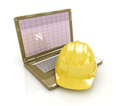 Technical engineer concept — Stock Photo