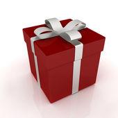Světlé vánoční dárek — Stock fotografie