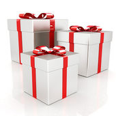 Scatole regalo — Foto Stock