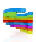 абстрактный красочные структура — Стоковое фото