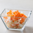 Coleslaw - Caribbean style — Stock Photo