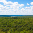 Lookout over 2 Rivers lake at Algonquin Park. — Stock Photo