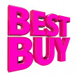 3D best buy — Stock Photo