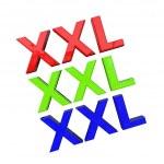 3D Word XXL — Stock Photo #29130299