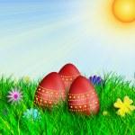 Easter Eggs — Stock Photo #9337997