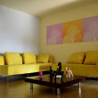 Yellow Sofa — Stock Photo