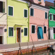 Colourful houses in Burano Island, Venice. — Stock Photo #13485470