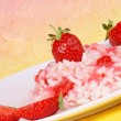 Risotto with strawberries — Stock Photo #13487459
