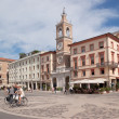 Three Martyrs square in Rimini — Stock Photo #13488470