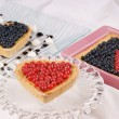 Assorted berry tarts — Stock Photo #13658982
