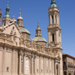 """Basilica de Nuestra Senora del Pilar"" in Zaragoza — Stock Photo"