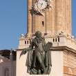 Monument to Goya — Stock Photo #13659465