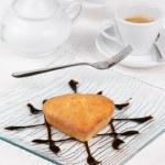 Постер, плакат: Small heart shaped cake