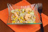 Kroupy salát — Stock fotografie