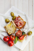 Italian ciabatta — Stock Photo