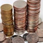 Постер, плакат: A lot of Russian coins