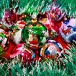 Multi-colored Christmas balls — Stock Photo #17472161