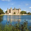 Germany. Castle of Schwerin. - Stock Photo