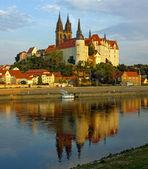 Albrechtsburg kalesi. meissen. almanya. — Stok fotoğraf