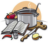 Cooking — Stock Vector