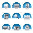 Applications icons — Stock Vector