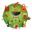 Stock Vector: Barbecue icon