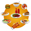 Stock Vector: Food icon