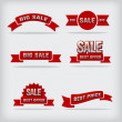 Sale labels — Stock Vector #38348431