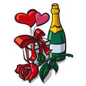 Valentine day anniversary — Wektor stockowy