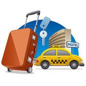 Hotel service — Stock Vector