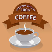 Coffe banner — Stock Vector