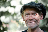 Portrait of an old man — Stock Photo