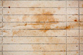 Texture of old lined yellow paper — Stock Photo