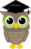 Cute owl vector — Stock Vector