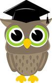 Cute owl vector — Stock Vector