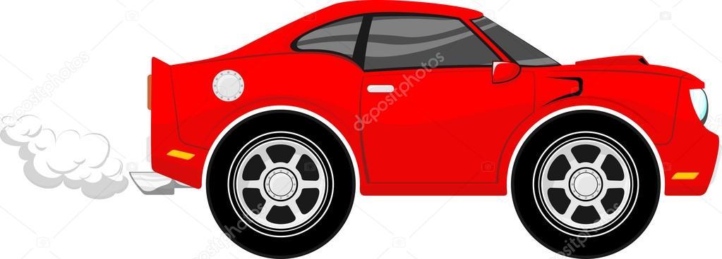 coche animado: