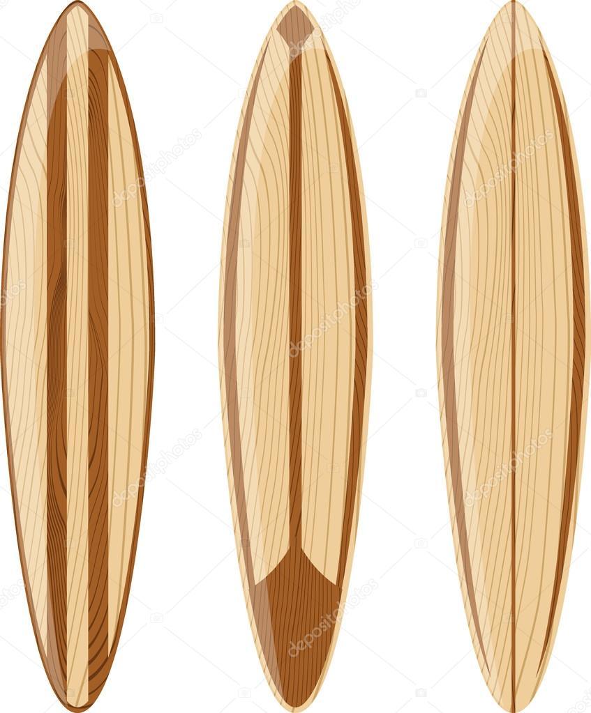 planches de surf en bois r tro image vectorielle hayaship 29008913. Black Bedroom Furniture Sets. Home Design Ideas