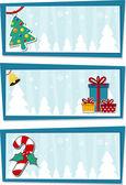 Christmas backgrounds vector — Stock Vector