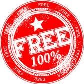 Free grunge stamp vector — Stock Vector