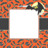 Halloween card background — Stock Vector