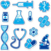Medical icons designs — Stock Vector