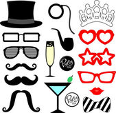 Party props — Stock Vector