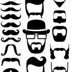 胡子道具 — 图库矢量图片 #51791687