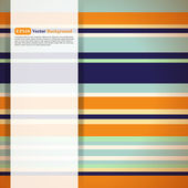 Pattern of multicolored stripes — Stock Vector