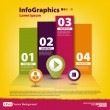Stock Vector: Modern Design template for infographics