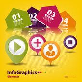 Prvky infographics pro váš design — Stock vektor