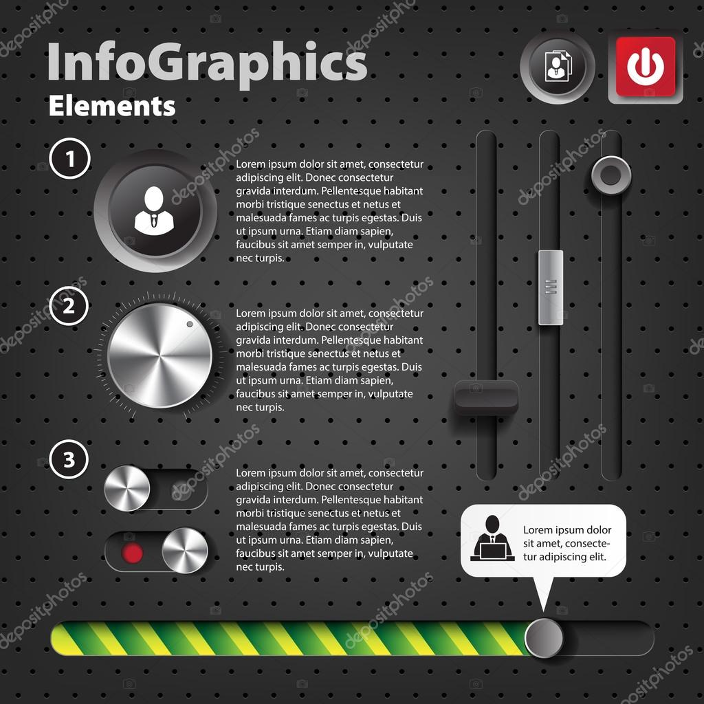 Infographic creative design vector set 167