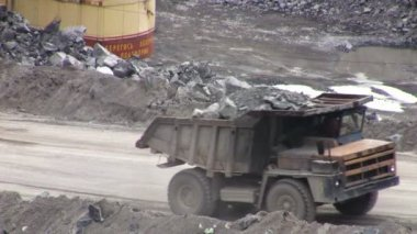 Open Pit Mine — Stock Video
