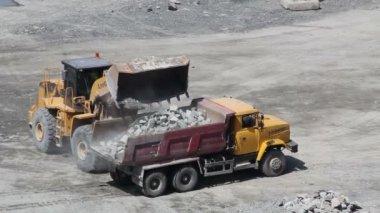 Construction site area — Stock Video